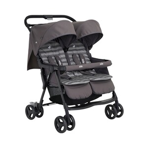 Joie  Aire Twin Zwillings- und Geschwisterbuggy  dark pewter