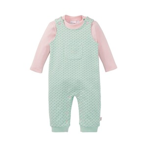 Bornino Beautiful Swan 2-tlg. Set Latzhose und Shirt langarm