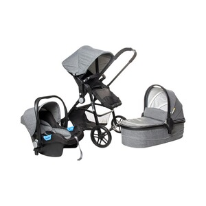 Osann  POP Kombikinderwagen Trio-Set  grey melange