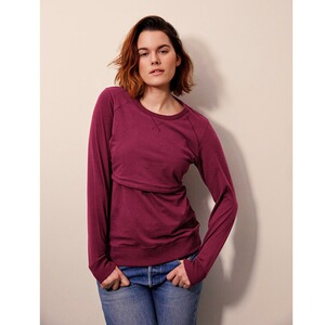 Boob®  Umstands- und Still-Pullover B-Warmer GOTS  Purple