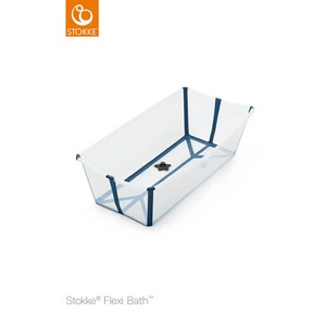 Stokke® FLEXIBATH Baignoire XL  transparent blue