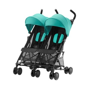 Britax Römer  Holiday Double Zwillingsbuggy  Aqua Green