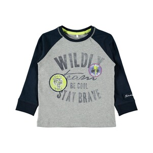 NAME IT  T-shirt à manches longues raglan Wildly