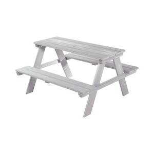 roba  Ensemble table et assise pour enfants Picknick for Outdoor Deluxe  gris