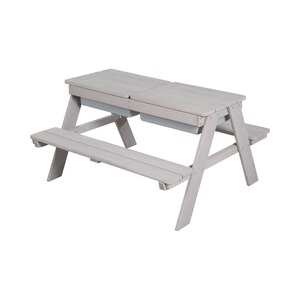 roba  Ensemble table et assise pour enfants Play for Outdoor Deluxe  gris