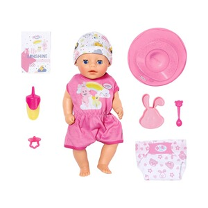 Zapf Creation BABY BORN Puppe Soft Touch Little Girl 36cm