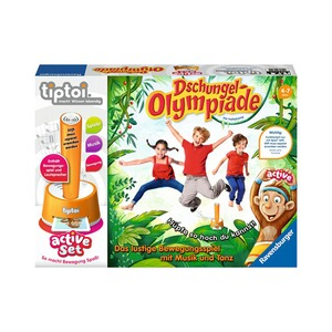 Ravensburger TIPTOI active Set Dschungel-Olympiade