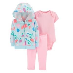 Baby Set Starterset 5 tlg.Erstausstattung  Mädchen Baumwolle Schmetterling gr.56