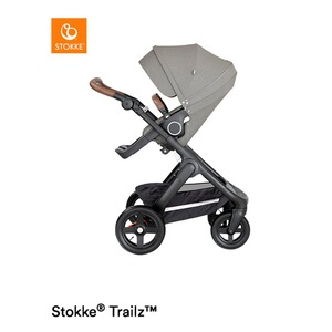 Stokke® TRAILZ Poussette  brushed grey