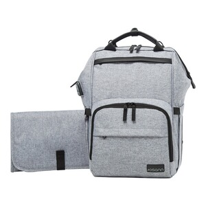 Osann  Sac à dos à langer backpack  grey melange