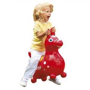GYMNIC  Cheval sauteur « Rody »  rouge