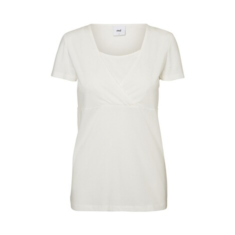 MAMALICIOUS®2er-Pack Umstands- und Still-T-Shirt Lea Organic Cotton 2