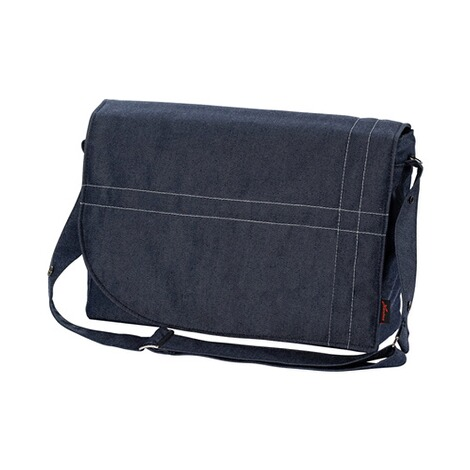 HartanWickeltasche City Bag  blue denim 1
