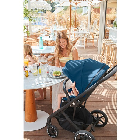 CybexGOLDBalios S Lux Kinderwagen  black/nautical blue 7