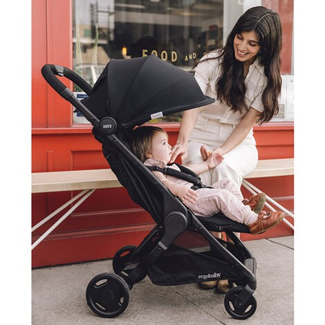 Ergobaby®Metro Compact City Buggy mit Liegefunktion  black 12