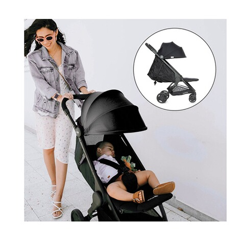 Ergobaby®Metro Compact City Buggy mit Liegefunktion  black 13