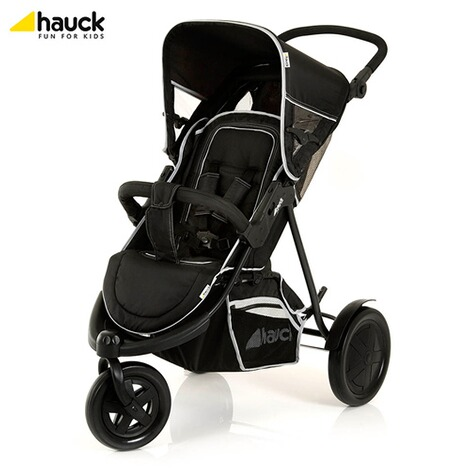 "HauckLa poussette double ""Freerider""  black 5"