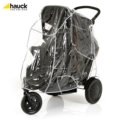 "HauckLa poussette double ""Freerider""  black 8"