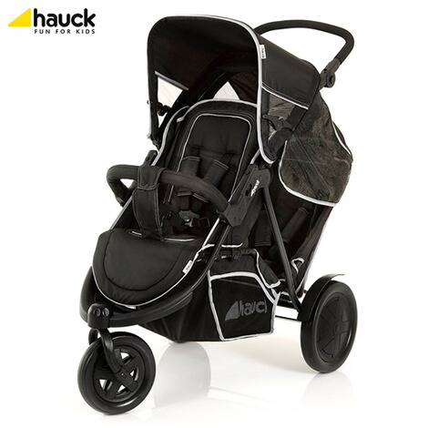 "HauckLa poussette double ""Freerider""  black 4"