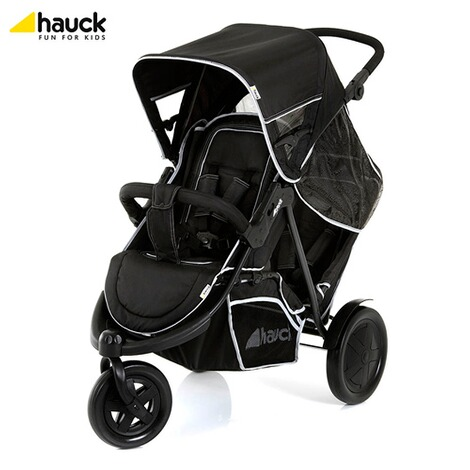 "HauckLa poussette double ""Freerider""  black 2"