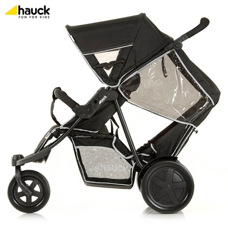 "HauckLa poussette double ""Freerider""  black 6"