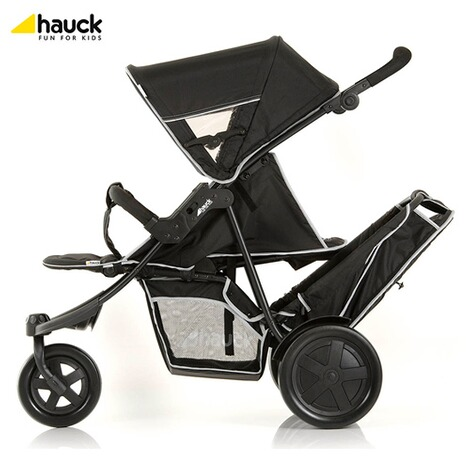 "HauckLa poussette double ""Freerider""  black 7"