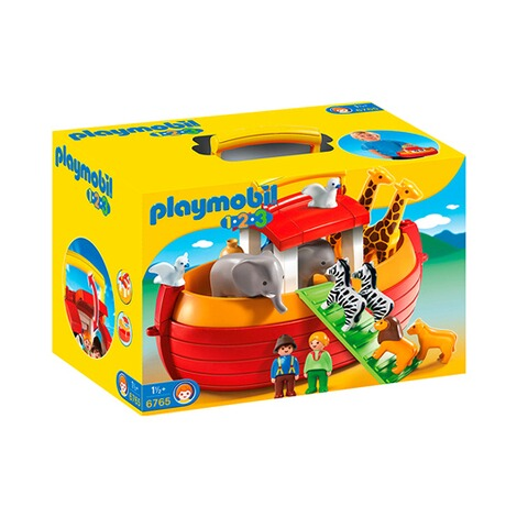 Playmobil®1.2.3L'arche de Noé transportable 6765 1