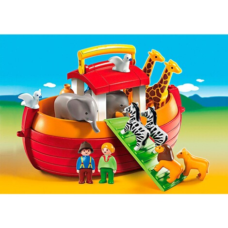 Playmobil®1.2.3L'arche de Noé transportable 6765 3