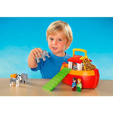 Playmobil®1.2.3L'arche de Noé transportable 6765 4