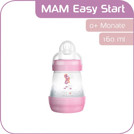 MAMLe biberon Anti-Colic  rose 2