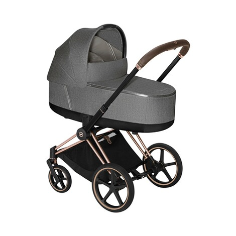 CybexPLATINUMTragewanne Plus PRIAM Lux  manhattan grey 3