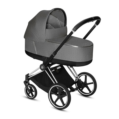 CybexPLATINUMTragewanne Plus PRIAM Lux  manhattan grey 6