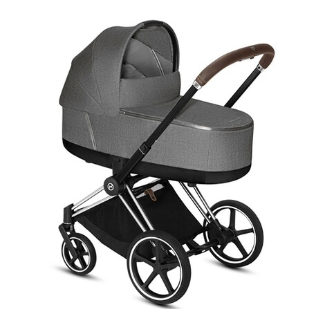CybexPLATINUMTragewanne Plus PRIAM Lux  manhattan grey 4