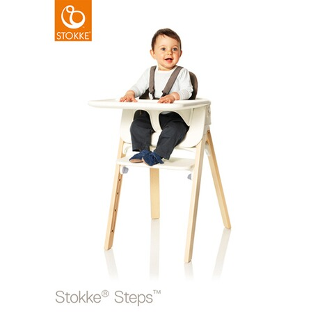 Stokke®STEPS™Stokke Steps Baby Set Tray weiss  weiss 2