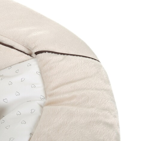 HauckLe transat Alpha Bouncer 2en1  hearts beige 3