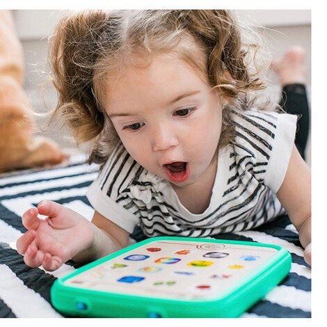 HapeBaby EinsteinBaby Lerntablet DE/IT/EN Magic Touch 5