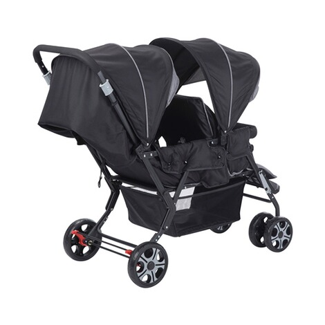 Safety 1stTeamy Geschwisterwagen  black chic 3