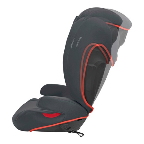CybexSILVERSolution B-fix Kindersitz  volcano black 4