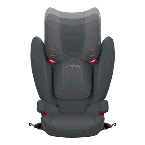CybexSILVERSolution B-fix Kindersitz  volcano black 3