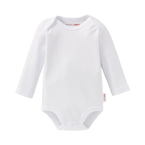 Bornino BASICS Body langarm  weiß 1