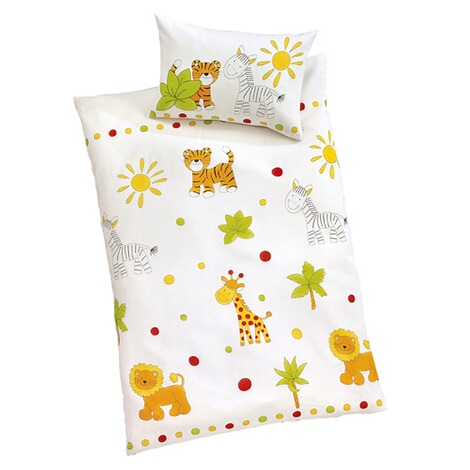 Ido Biber Bettwäsche Safari 40x60 100x135 Cm Online Kaufen Baby Walz