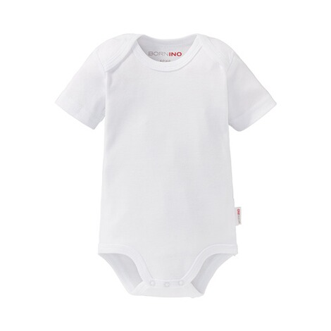 Bornino BASICS Body kurzarm  weiß 1