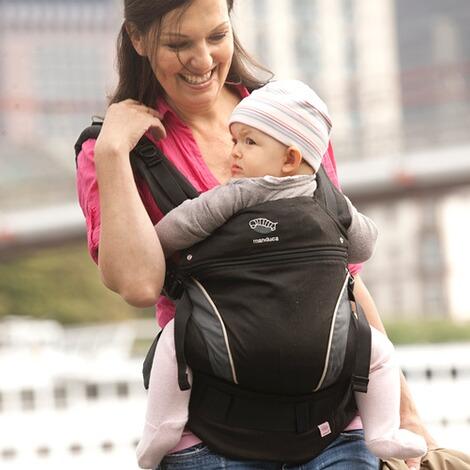Bildergebnis für babytrage bild manduca