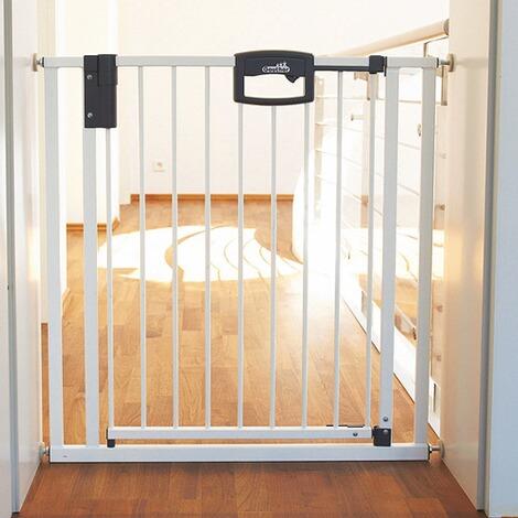 geuther barri re de s curit pour porte easy lock commander en ligne baby walz. Black Bedroom Furniture Sets. Home Design Ideas
