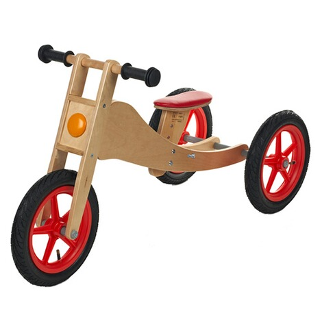 Geuther  Laufrad Bike aus Holz 2-in-1 1