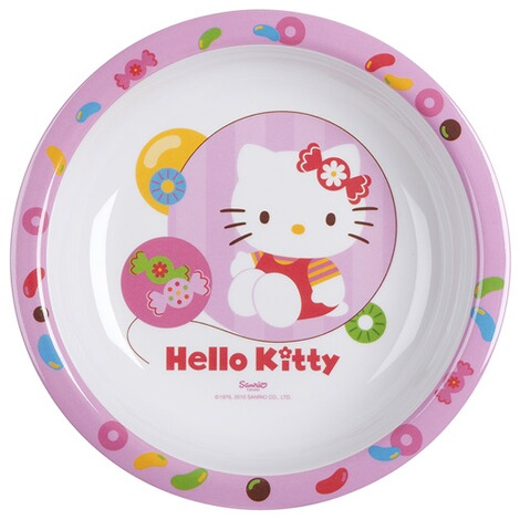 Hello Kitty Lassiette Creuse Dapprentissage Hello Kitty