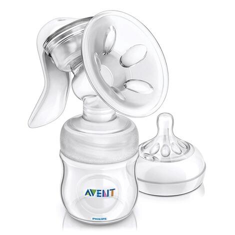 Ernährung Kindergeschirr & -besteck Avent Natürliche Handmilchpumpe Mit Flasche
