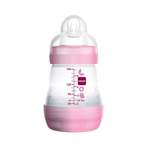 MAM  Le biberon Anti-Colic  rose 2