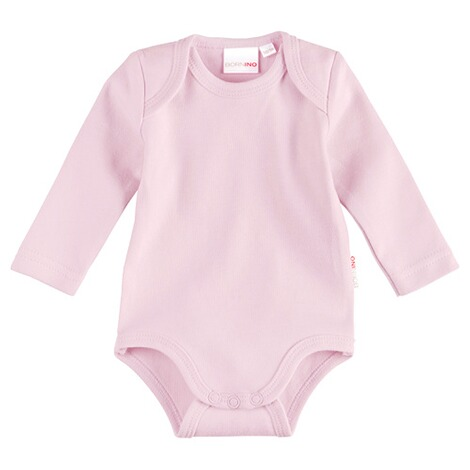 Bornino BASICS Body langarm  rosa 1
