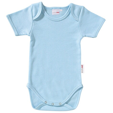 Bornino BASICS Body kurzarm  hellblau 1